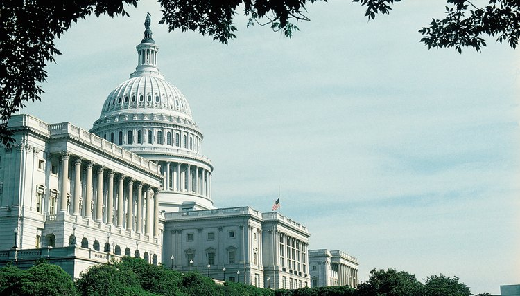 The U.S. Capitol is a federal building that hosts state representatives.