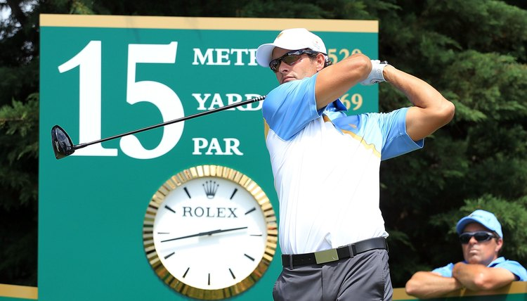 Timing is a vital part of a good golf swing.