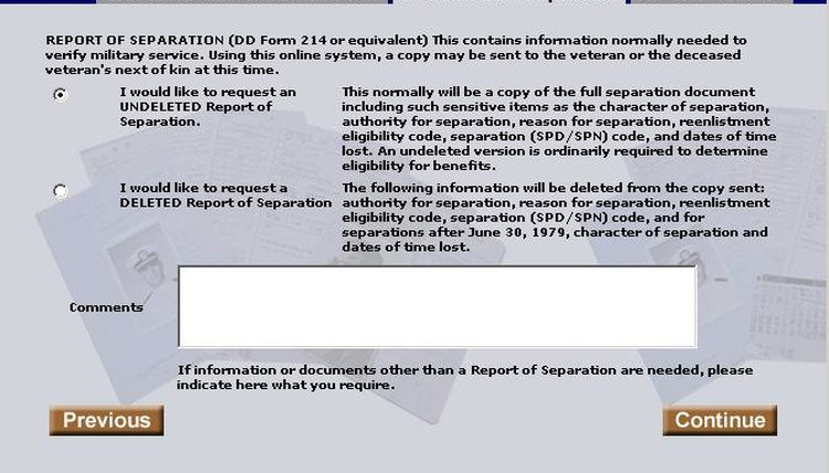 Indicate, you, a deleted or undeleted Report, Separation