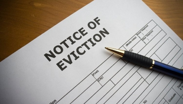 Write an Eviction Letter