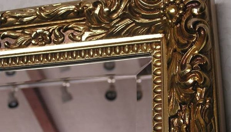 Refinish a Wood Mirror Frame
