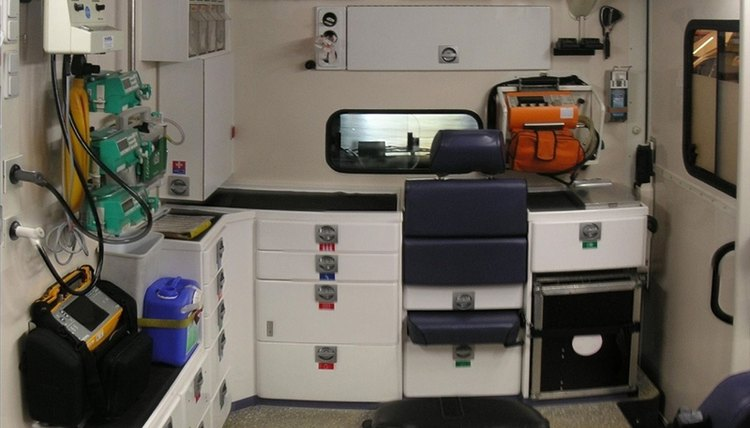 Ambulance Interior (Flickr Photo/ernstl)