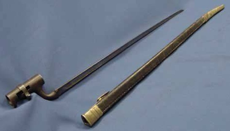 An Enfield Bayonet, the Virginia Infantry