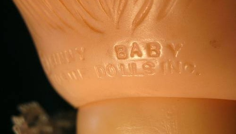 Special markings, the back, each doll's head, actual Ginny dolls