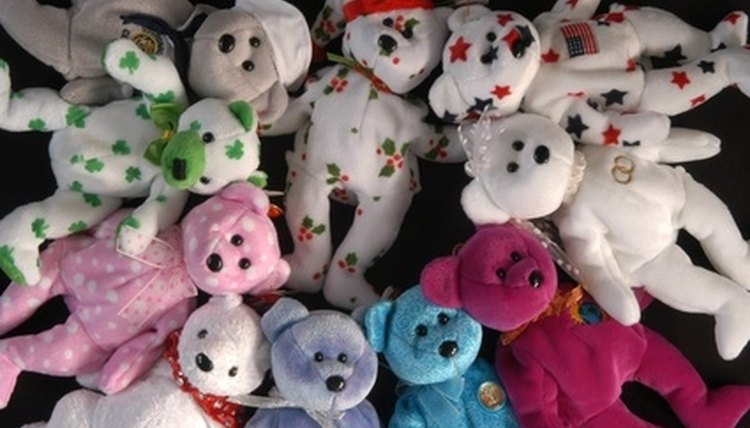 The Ty beanie baby craze, the nation