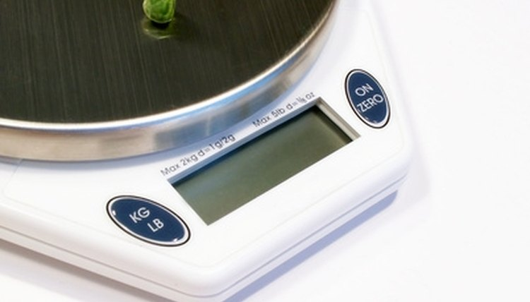 Electronic scales are very precise.