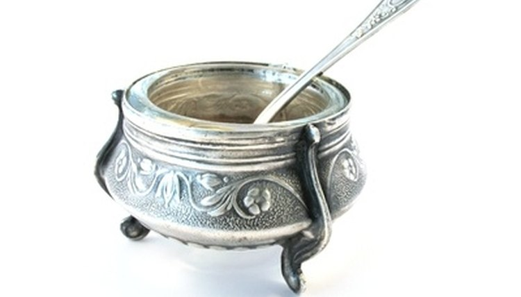 Silverplate, sterling silver