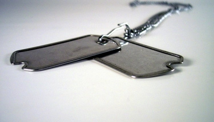 Dog tags, metal tags, you, engraving
