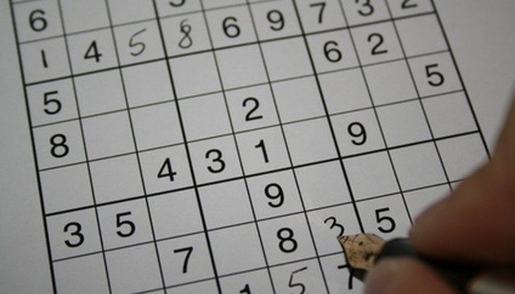 sudoku, a different shape, the traditional version