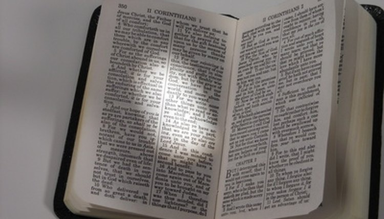 Students, biblical scriptures, seminary games