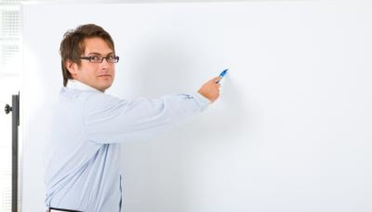 Let students use the whiteboard to play a drawing game.