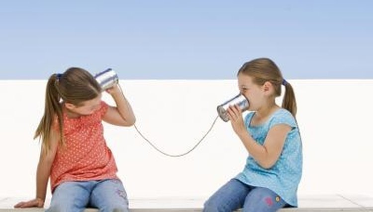 Have kids practice situations such as talking on the phone.