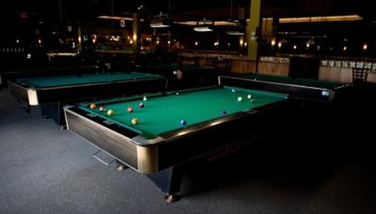 Official billiard table sizes our pastimes - Professional pool table size ...