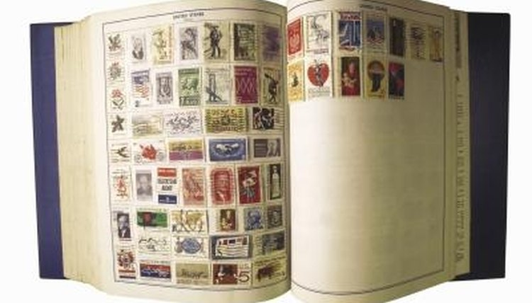 How to Display Postage Stamps