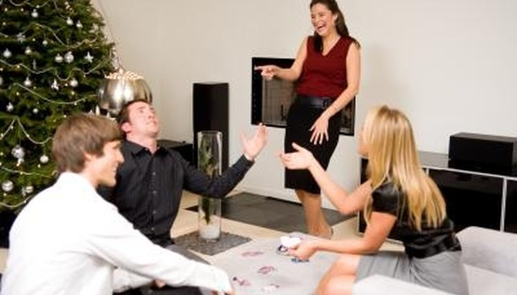 Board games, an alternative, traditional charades