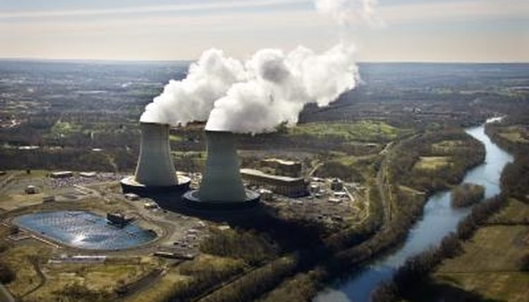 Nuclear power plants in the U.S. produce electricity for millions of people.