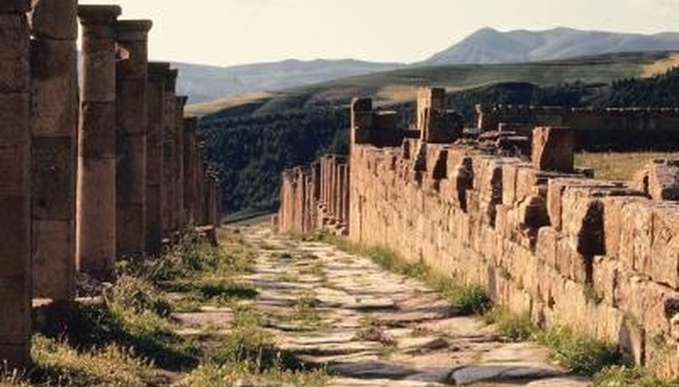 Roman emperors understood the importance of roads.