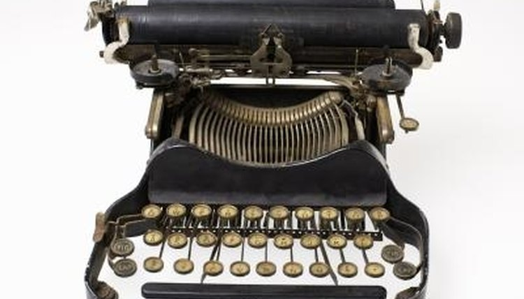 Vintage typewriters, collectable antiques