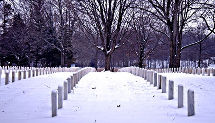 Our honored veterans lie in rest at military cemeteries around the world.