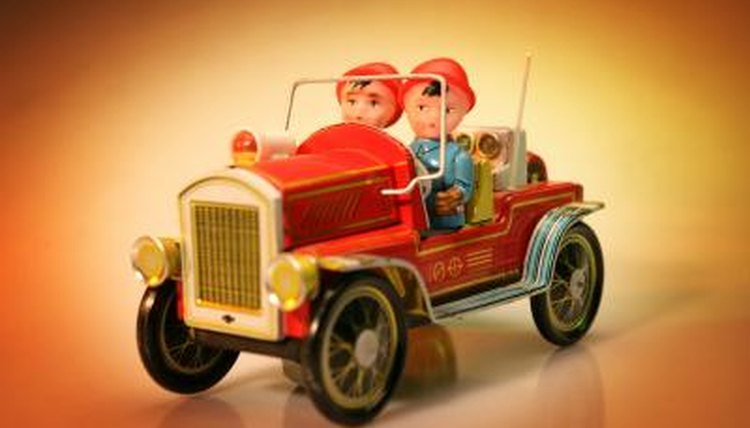 the toy, a copyright date, it, a reproduction