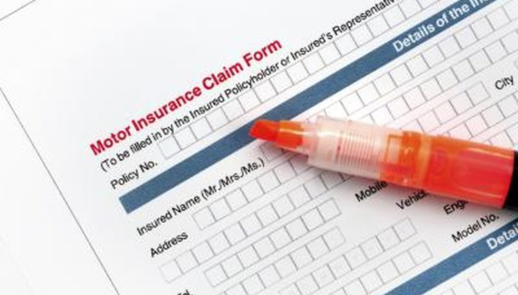 your insurance claim form, you, a copy, the police report