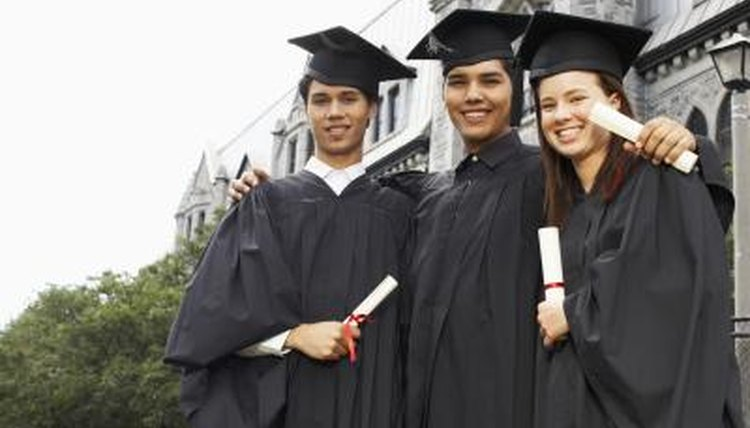 There are four levels of college degrees in the United States.