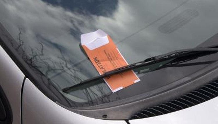 Parking tickets are also called citations.