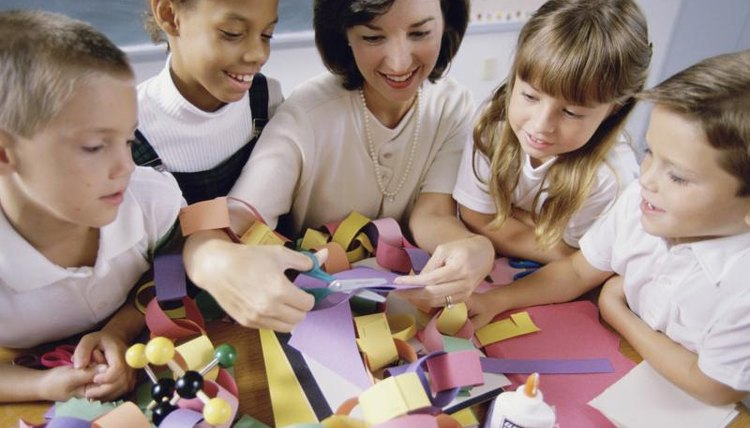 Games that involve handcrafts or artwork enable the selectively mute child to communicate nonverbally in the classroom.