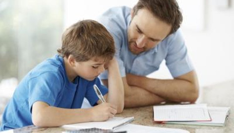 Homework will help your child learn time management.