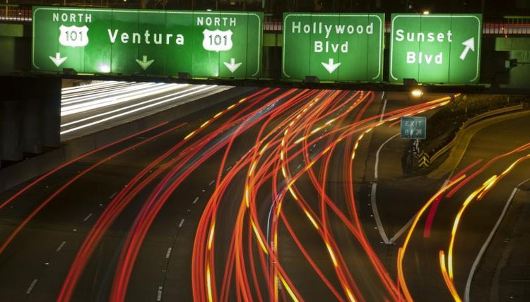 Los Angeles, the modern municipal traffic code