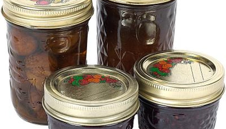 Modern canning jars, limited sizes