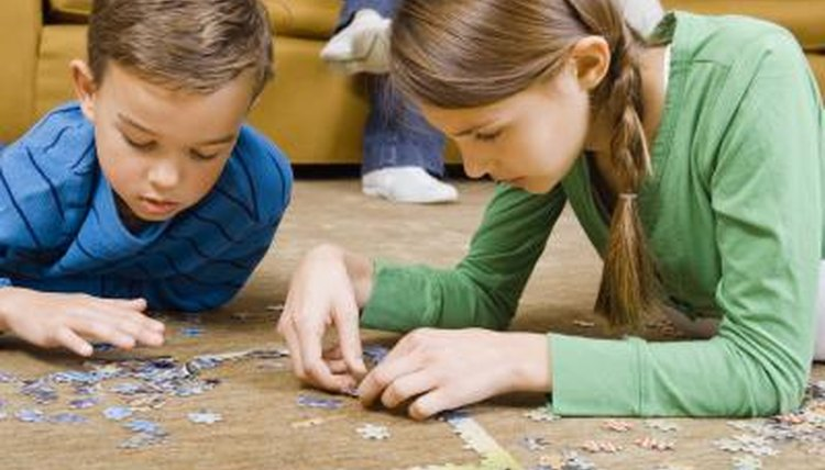 Jigsaw puzzles, an engaging family activity, art
