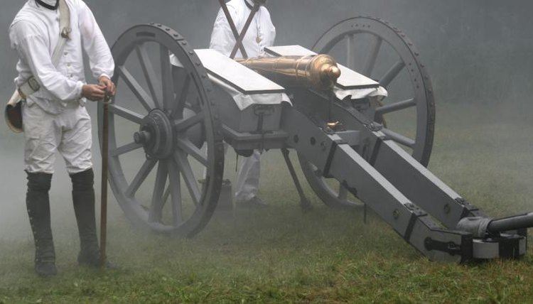 War canon from the American Revolution.