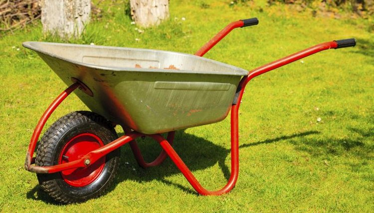 Wheelbarrows are compound machines made up of a lever and a wheel and axle.