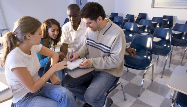 Warm-up activities get ESL adult students more involved in the class.