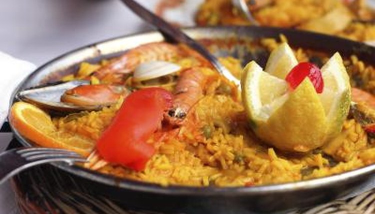 Spanish Paella.