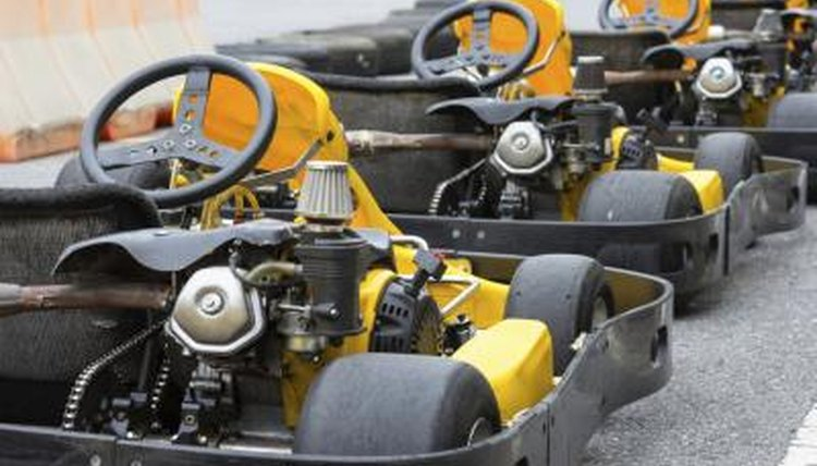 Lawnmower engines, power go-karts