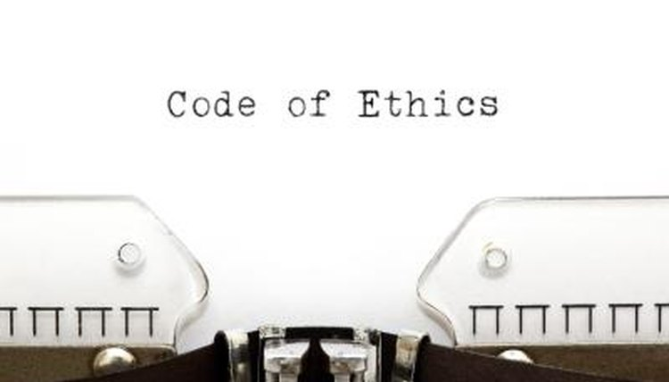 Codes of ethics and codes of conduct are often confused.