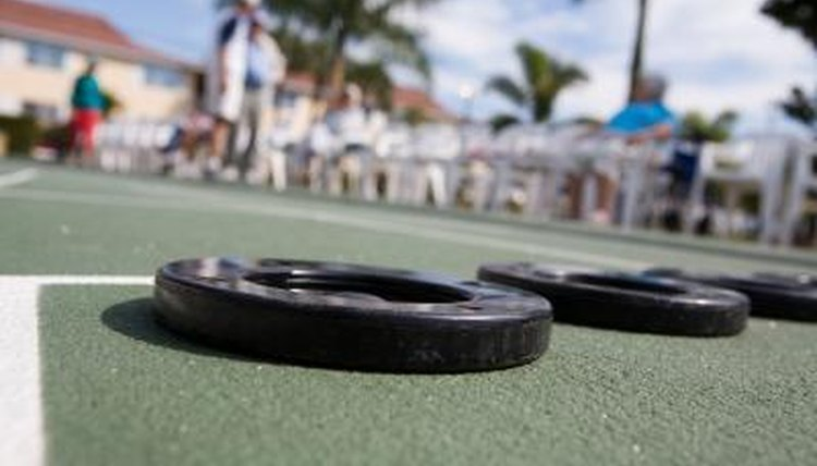 Outdoor Shuffleboard Strategy