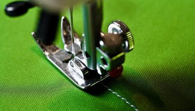 a Handheld Sewing Machine