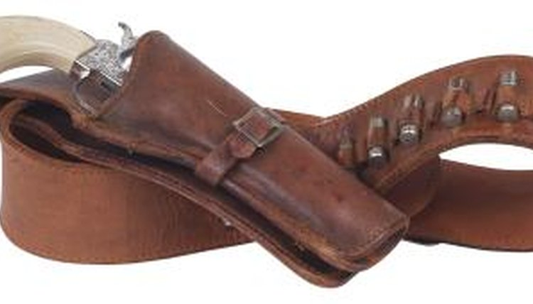 a Leather Gun Holster