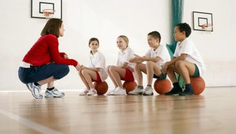 Teaching basketball