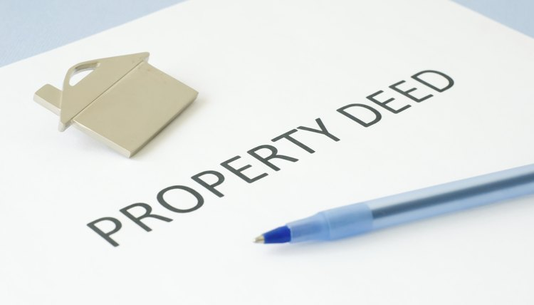 property deed paperwork
