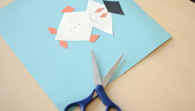 Diamond-Shaped Arts & Crafts For Preschoolers