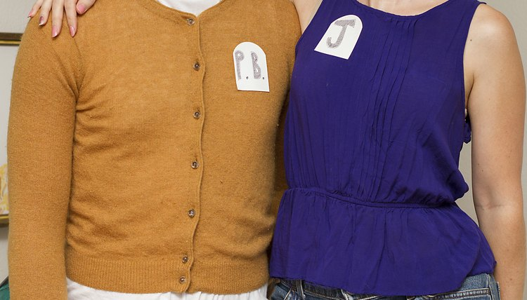 Good ideas for twin day at school synonym for Peanut butter t shirt dress