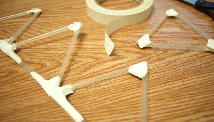 How To Make A Bridge Out Of Straws Sciencing