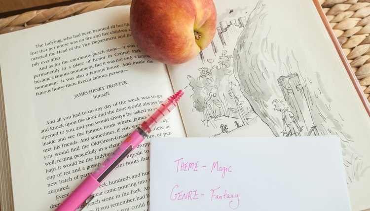 Activities For Quot James And The Giant Peach Quot Synonym