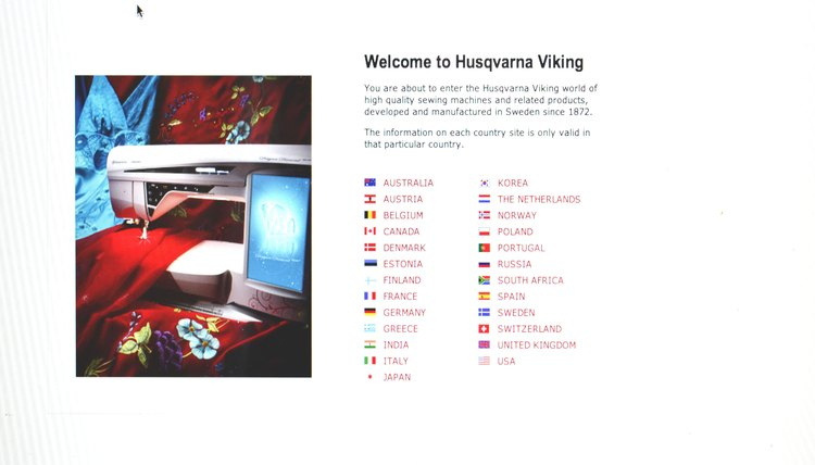 the Husqvarna Viking website, Contact Us, the current Consumer Affairs Department phone number