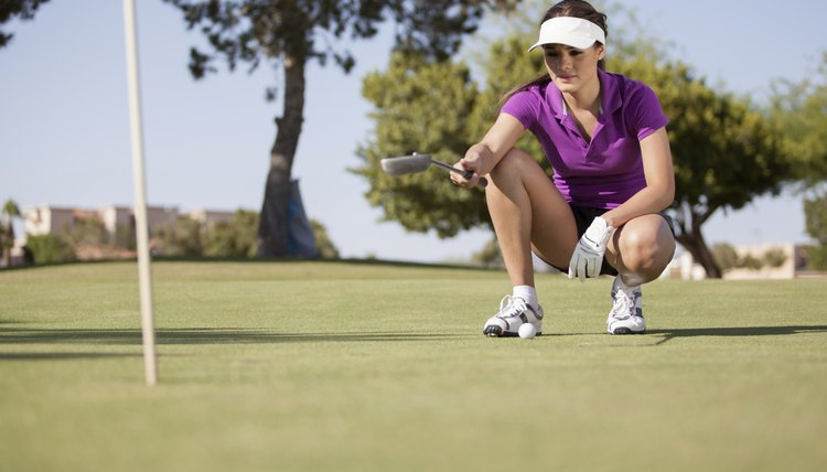 Golf instruction should focus on both the physical and mental aspects of the game in order to build confidence.