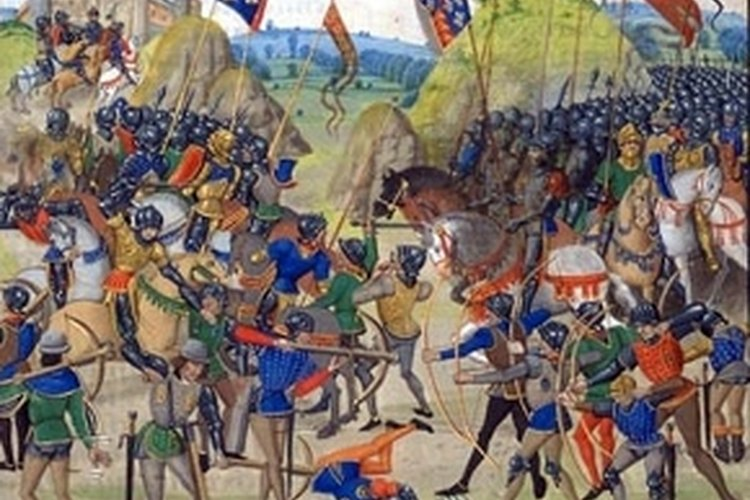 Medieval Bow and Arrows at the Battle of Crecy 1346